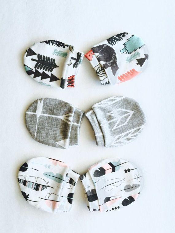 EE/_ LX/_ Baby Mittens Glove Newborn Cotton Gloves Mittens Baby Anti-scratch Warm