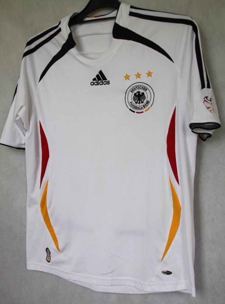 45cffedd1 ADIDAS GERMANY NATIONAL TEAM SHIRT JERSEY 2005 2006 sz S CAMISETA MAGLIA  (021)…