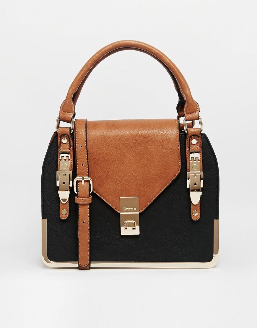 Dune Colourblock Handheld Bag