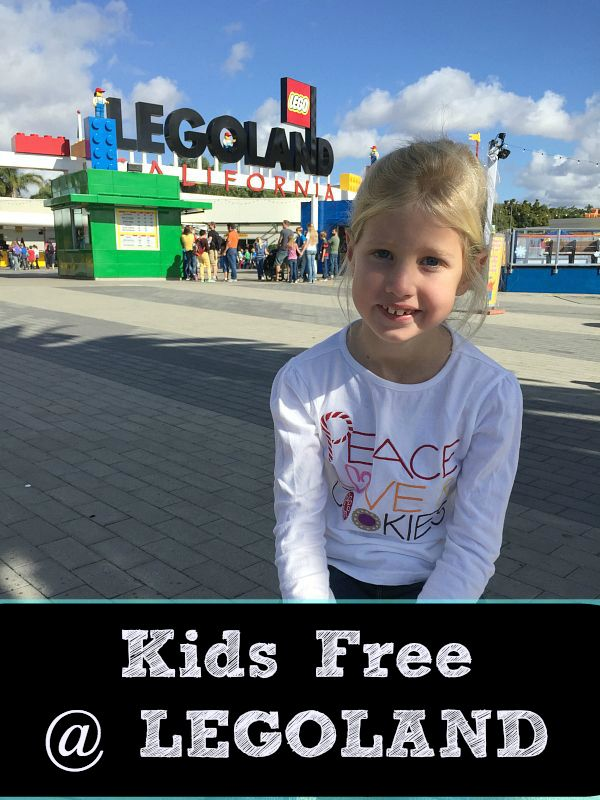 Free Child S Admission To Legoland Legoland California Legoland