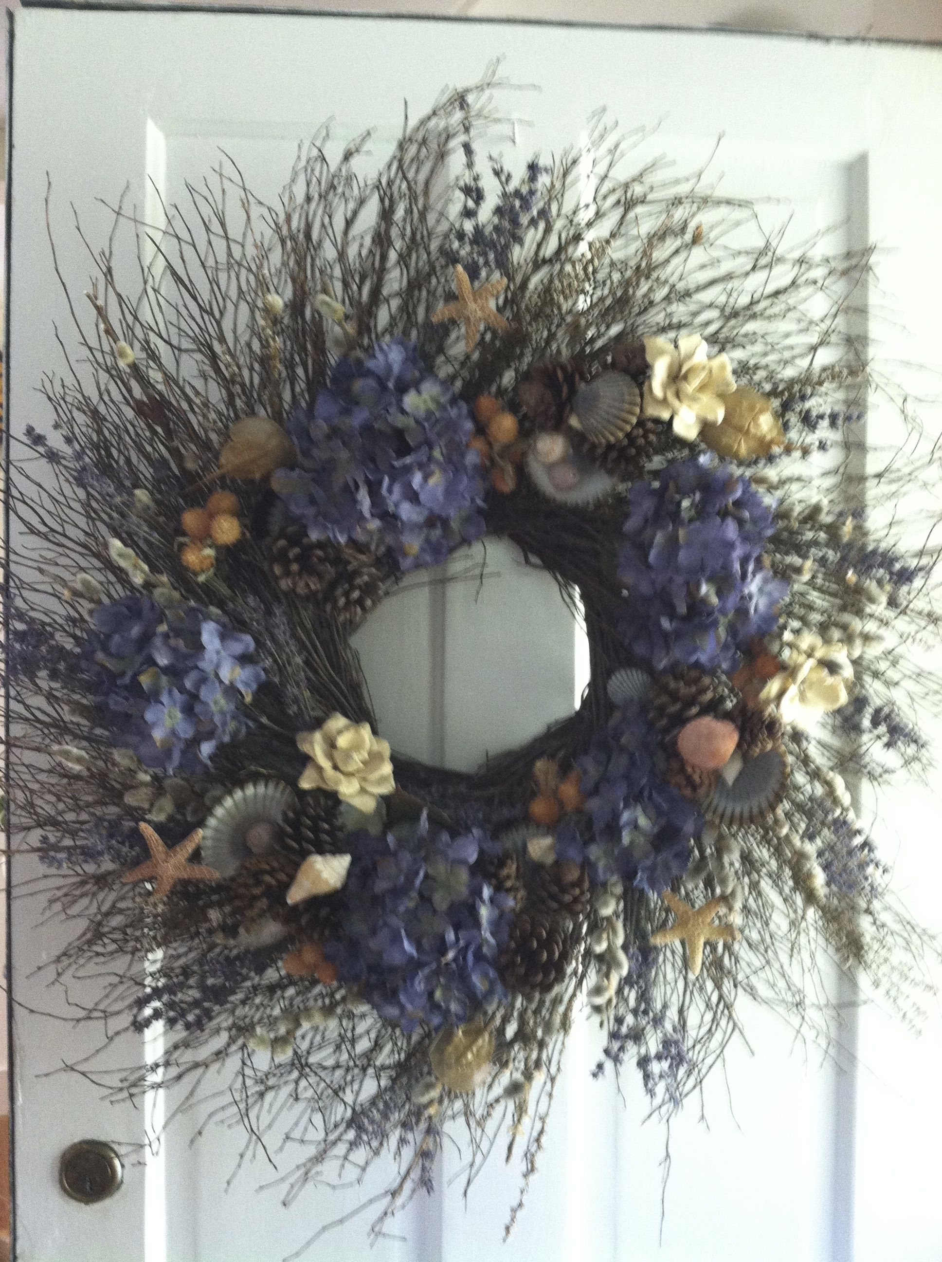 Wreath Made For The Nantucket Festival Of Wreaths 2013