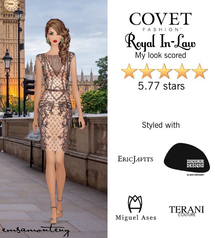 Royal In-Law @covetfashion #covet #covetfashion #covetfashionapp #fashion #womensfashion #covetwinter2015 #winter2015 #vincecamuto #teranicouture #ericjavits #dinosaurdesigns #zimmermann #nadialee #miguelases