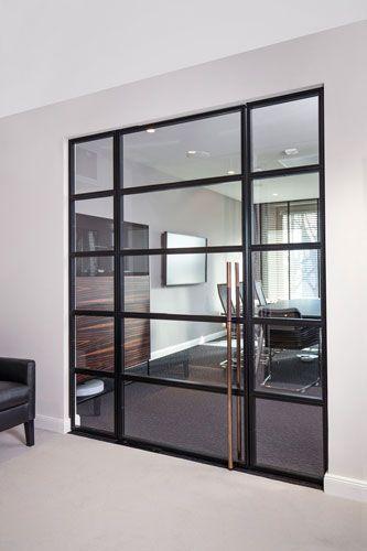 StahlGlasTür Innenausstattung, Loft wohnung, Glastüren