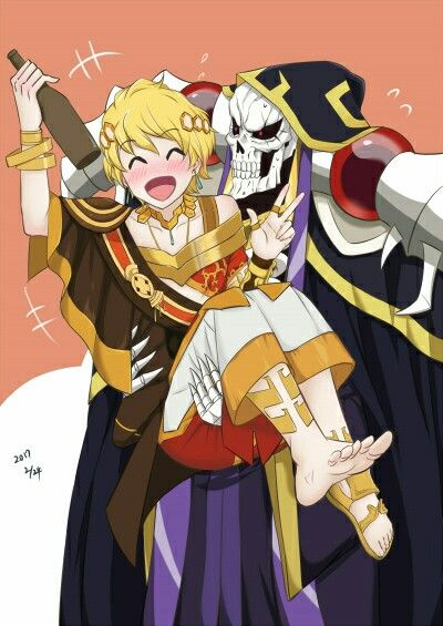 Pin By Najlaa Hyler On Overlord Anime Albedo Anime Crossover