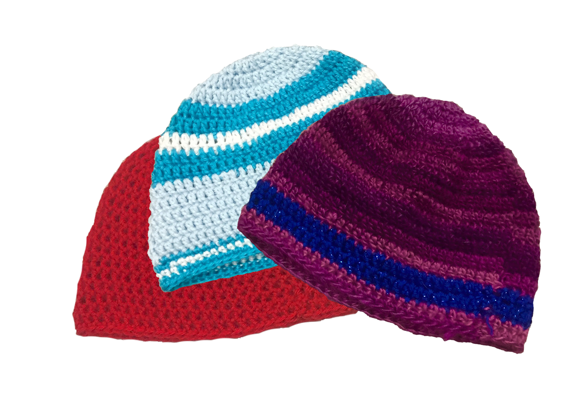 Free crochet beanie patterns - Extra soft for little cancer fighters ...