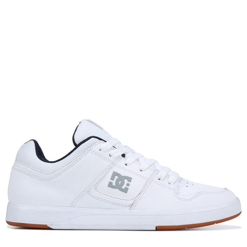 a953485417 DC Shoes Men s Cure Skate Shoes (White White)