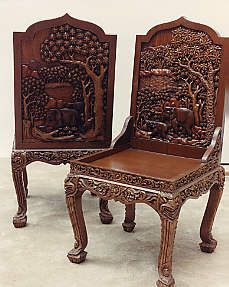 Wonderful Hand Carved Vietnamese Furniture   Dining Room Set, Dining Table, Hutch,  Buffet U0026