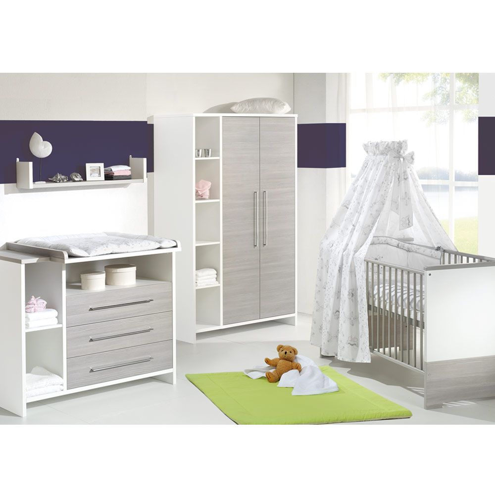 SCHARDT Kinderzimmer Eco Silber 2-trg | Babyartikel.de | Rennhofer ... | {Schardt kinderzimmer 9}