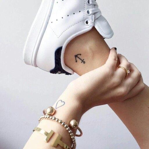 Anchor heart snazzy tattoos pinterest anchor heart tattoo anchor heart gumiabroncs Images