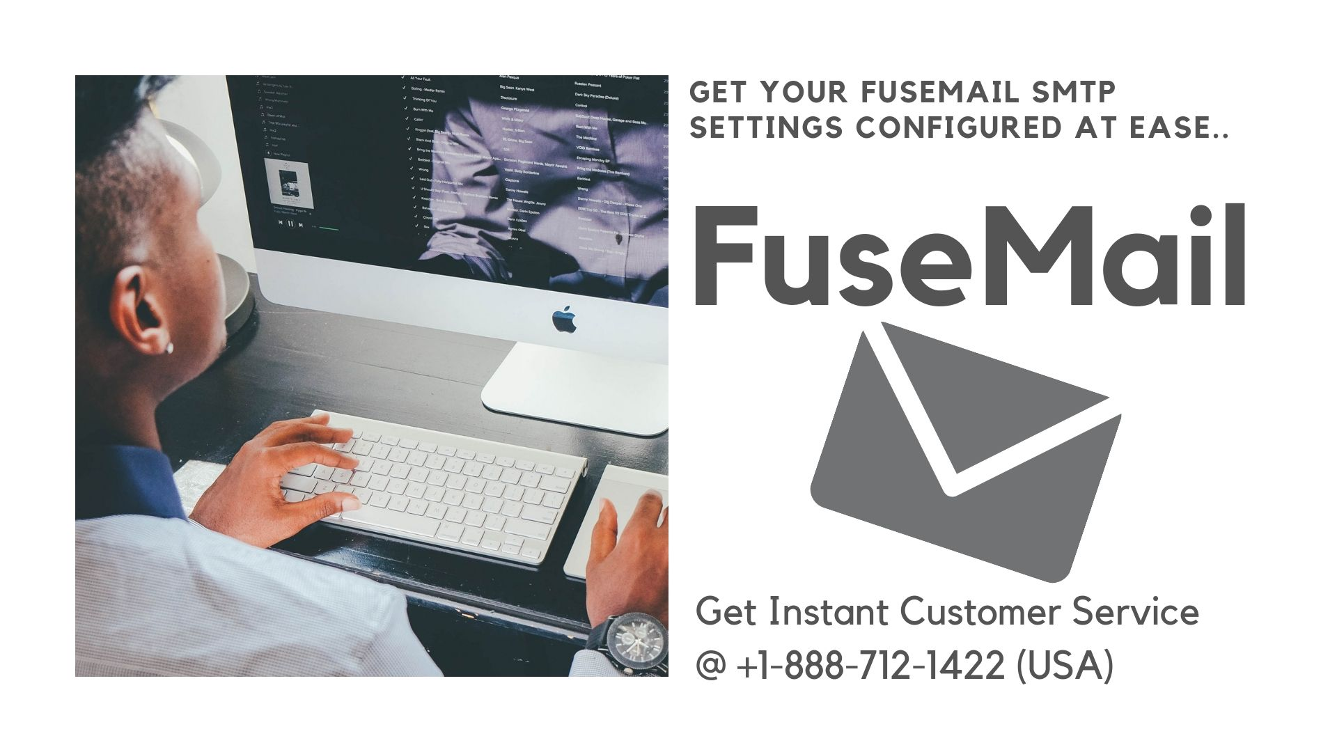 Configure your FuseMail SMTP server settings while setting