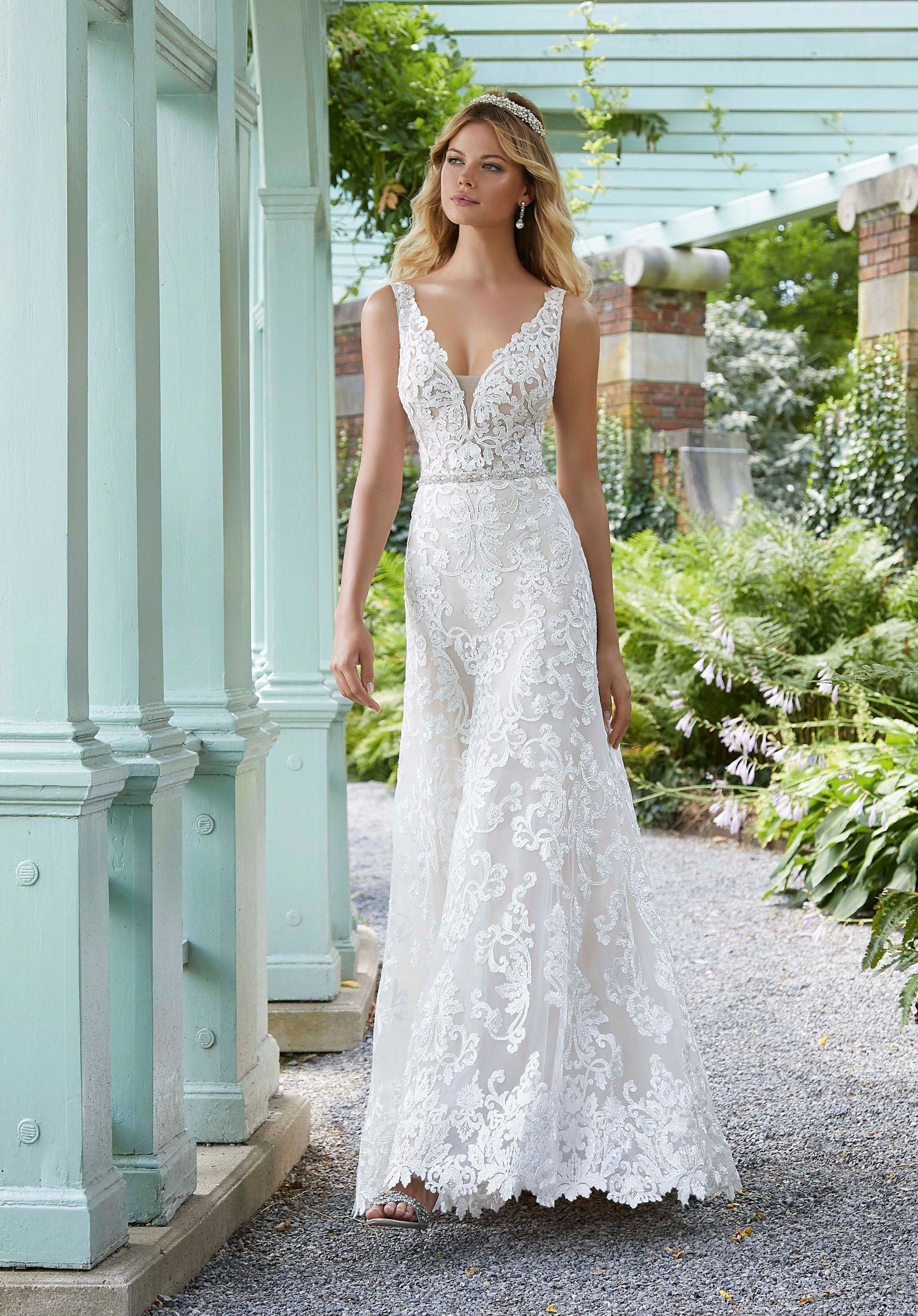 A line wedding dress For Aire Boho Collection 2020 in 2020