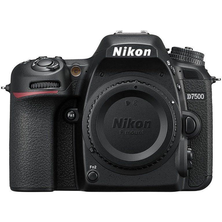 Nikon D7500 DSLR Camera (Body) - Walmart.com - Walmart.com