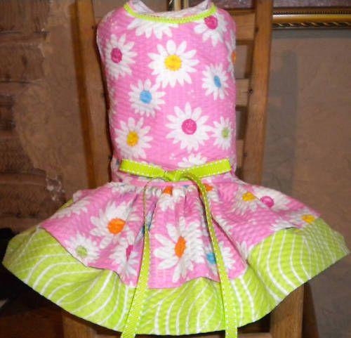 Cute Spring Dog Dress