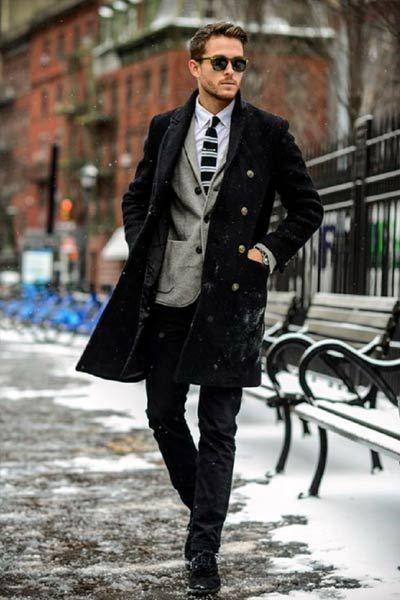 Habille-toi en hiver quand il fait froid # coiffures # hommes # 2019 # vêtement…