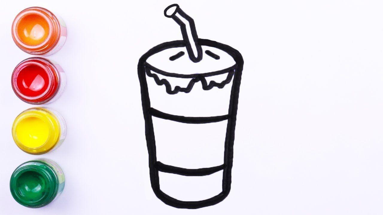 Mewarnai Dan Melukis Food Clipart Mudah Menggambar Dan Melukis