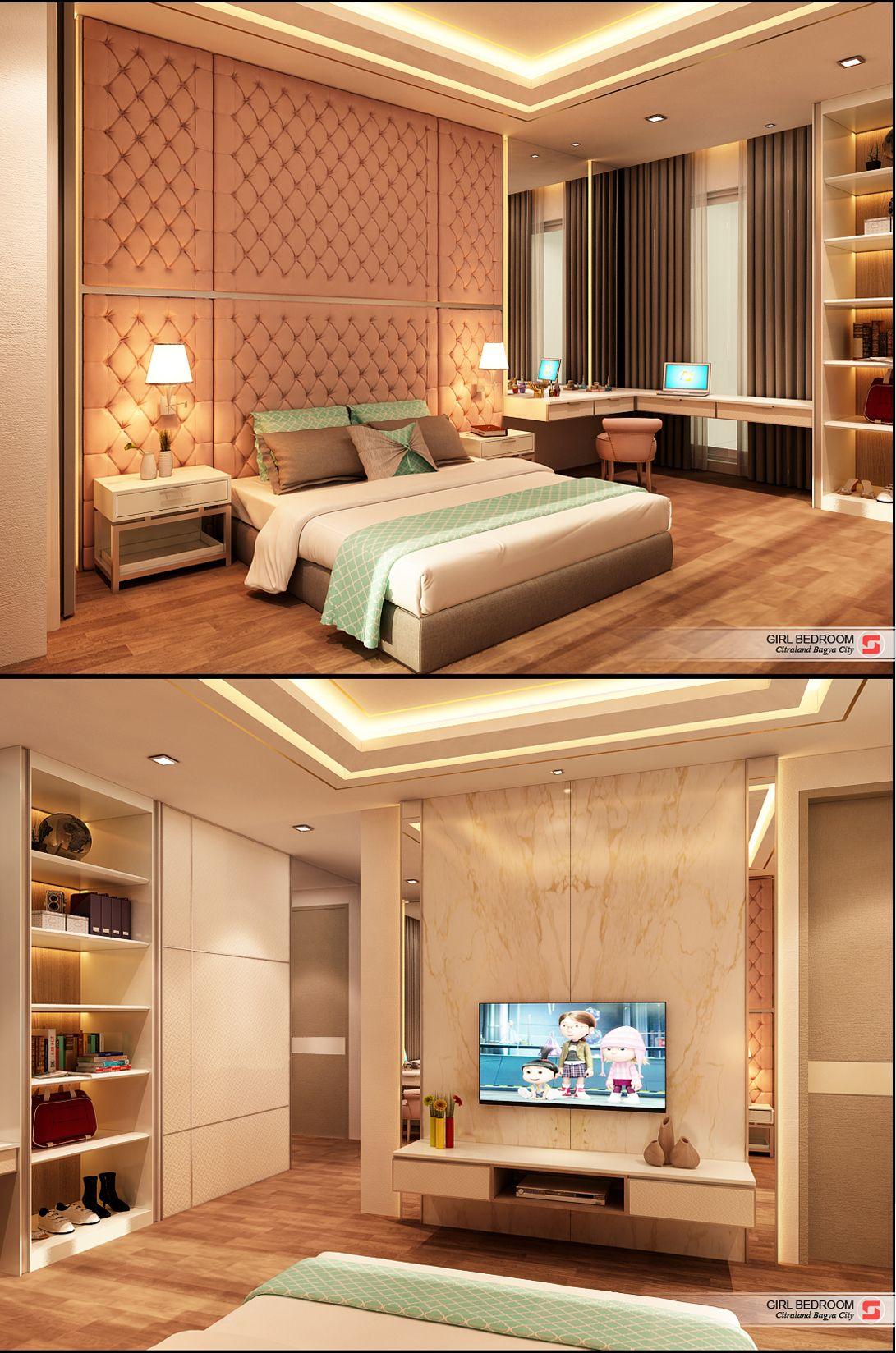 Indonesian girl bedroom
