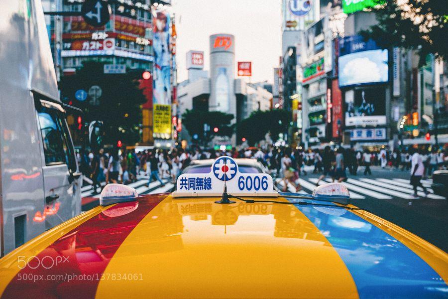 Shibuya crossing by kenji87