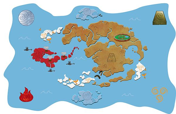 Avatar World Map on Behance | avatar | Pinterest | Avatar, Avatar