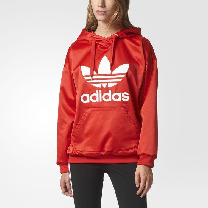 adidas Trefoil Hoodie Womens Hoodies & Sweatshirts