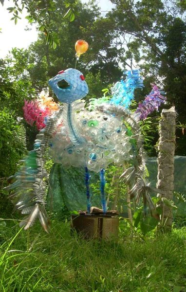 #Flower, #Household, #RecycledArt, #Waste