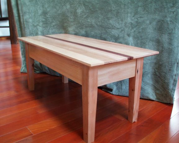 Recycled Wood Coffee Table Reader S Gallery Fine Woodworking M