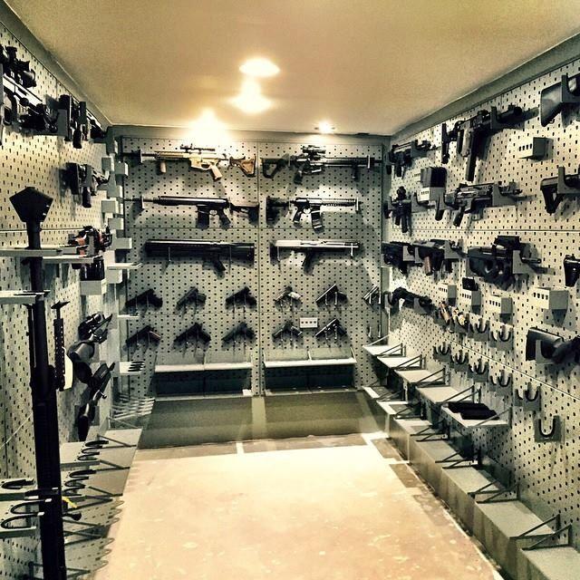 Gallow Armory Room Gun Mounts Tacti Cool Guns Gun