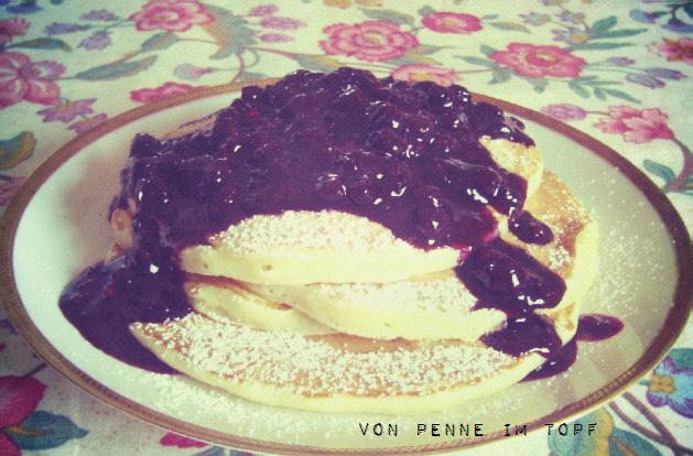 Penne im Topf: Buttermilk Pancakes