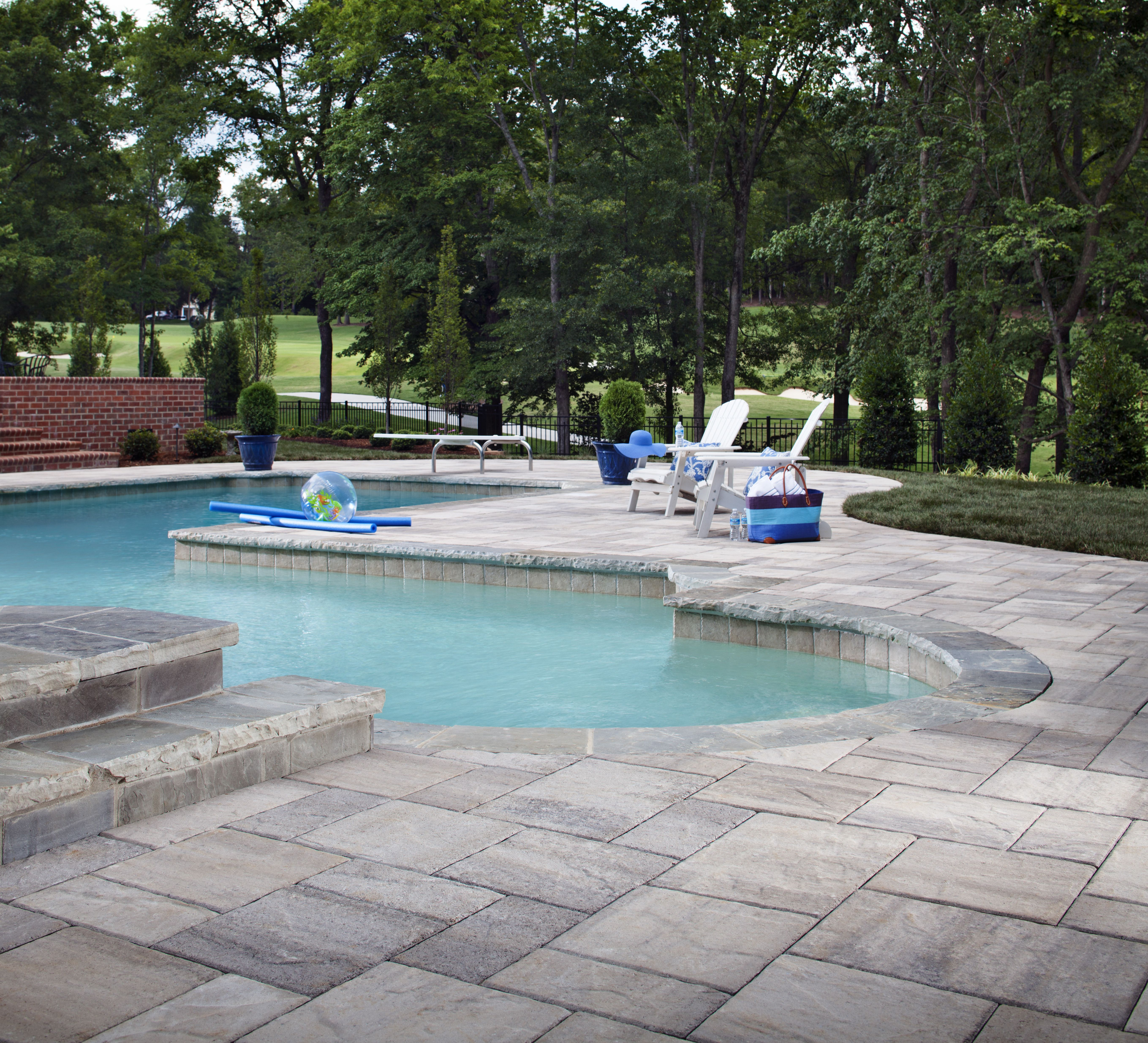 20 Stunning Outdoor Patio Paver Ideas For Your Home Paver Patio Pool Pavers Pool Patio
