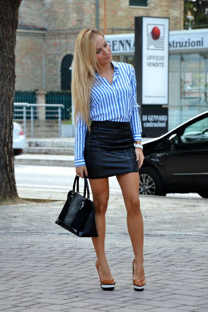 Pin tillagd av Tony Smith på milf   Pinterest   Modebloggare, Mode ...