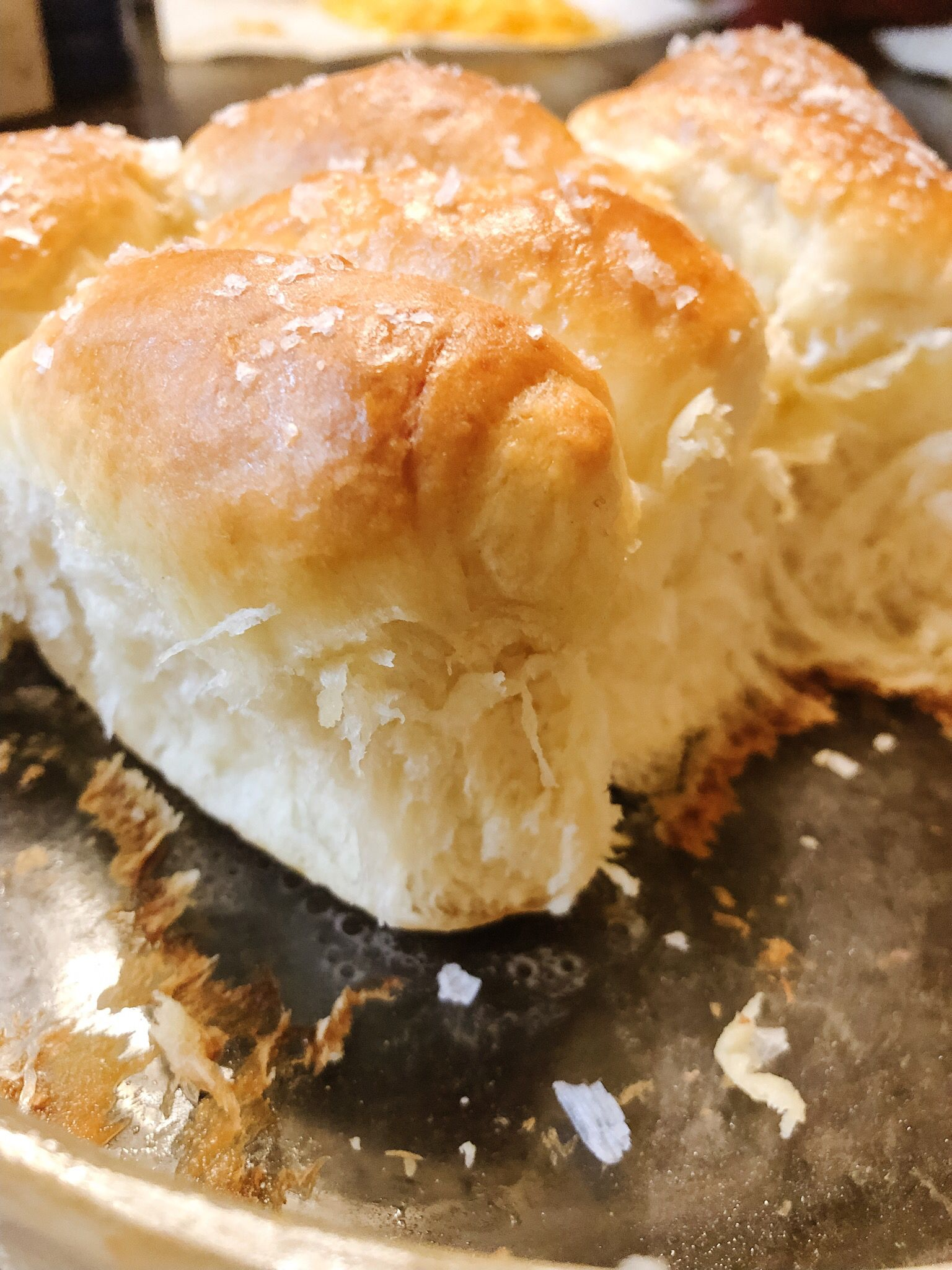 Milk Rolls With Images Yeast Rolls My Favorite Food Food