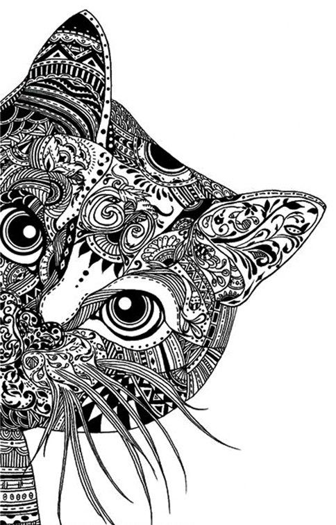 Zentangle Animals Bing Images Mandalas Animales Imagenes De