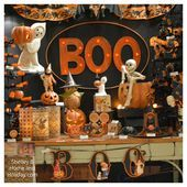 Vintage Halloween decorations, Bethany Lowe Halloween at Shelley B Home and… - #bethany #decorations #halloween #shelley #vintage - #new #eleganthalloweendecor