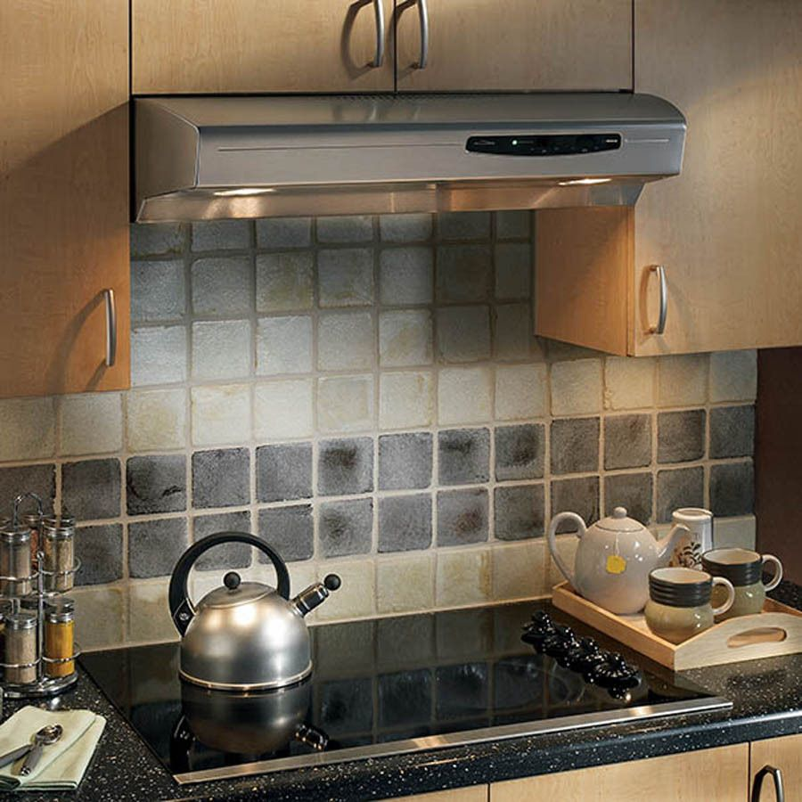Broan 30 In Convertible Stainless Steel Undercabinet Range Hood Lowes Com Kitchen Ventilation Range Hood Under Cabinet Range Hoods