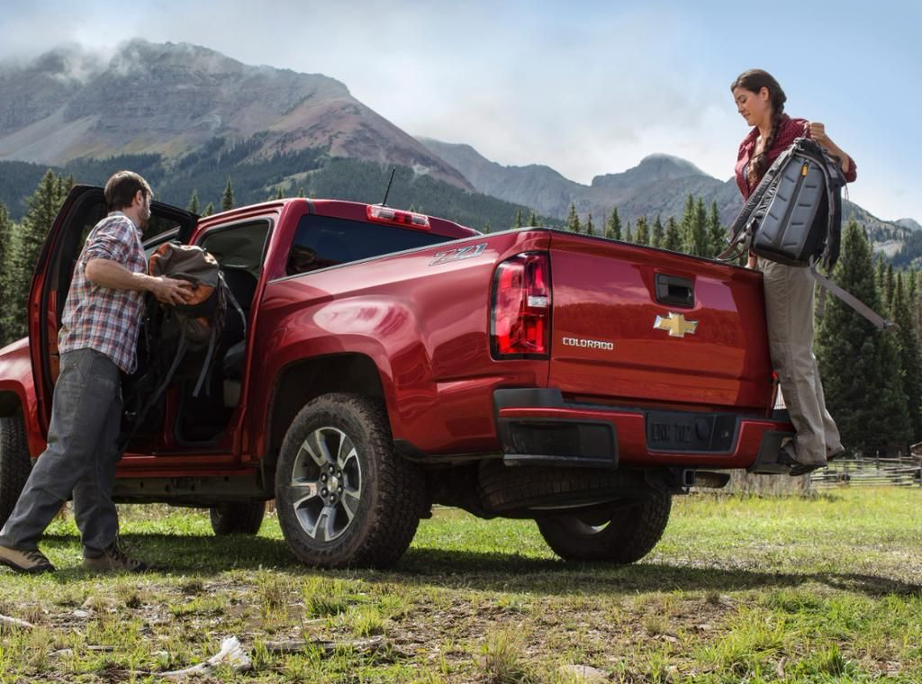 General Motors On 2015 Chevy Colorado Chevrolet Colorado