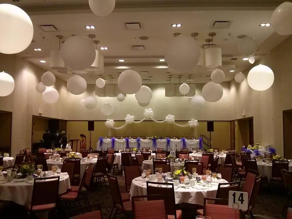 Ceiling balloon wedding 3 foot google search ceiling for Balloon ceiling decoration