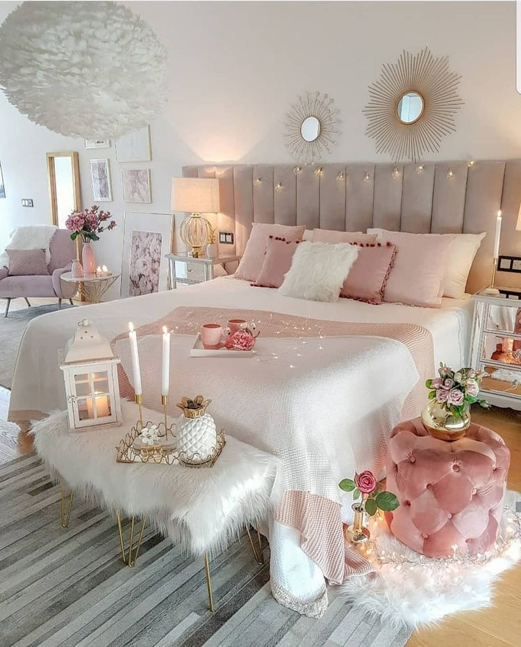 Home For The Holidays Three Stylish Bedroom Luxurious Bedrooms Bedroom Interior Bedroom bathroom knockout cute bedroom