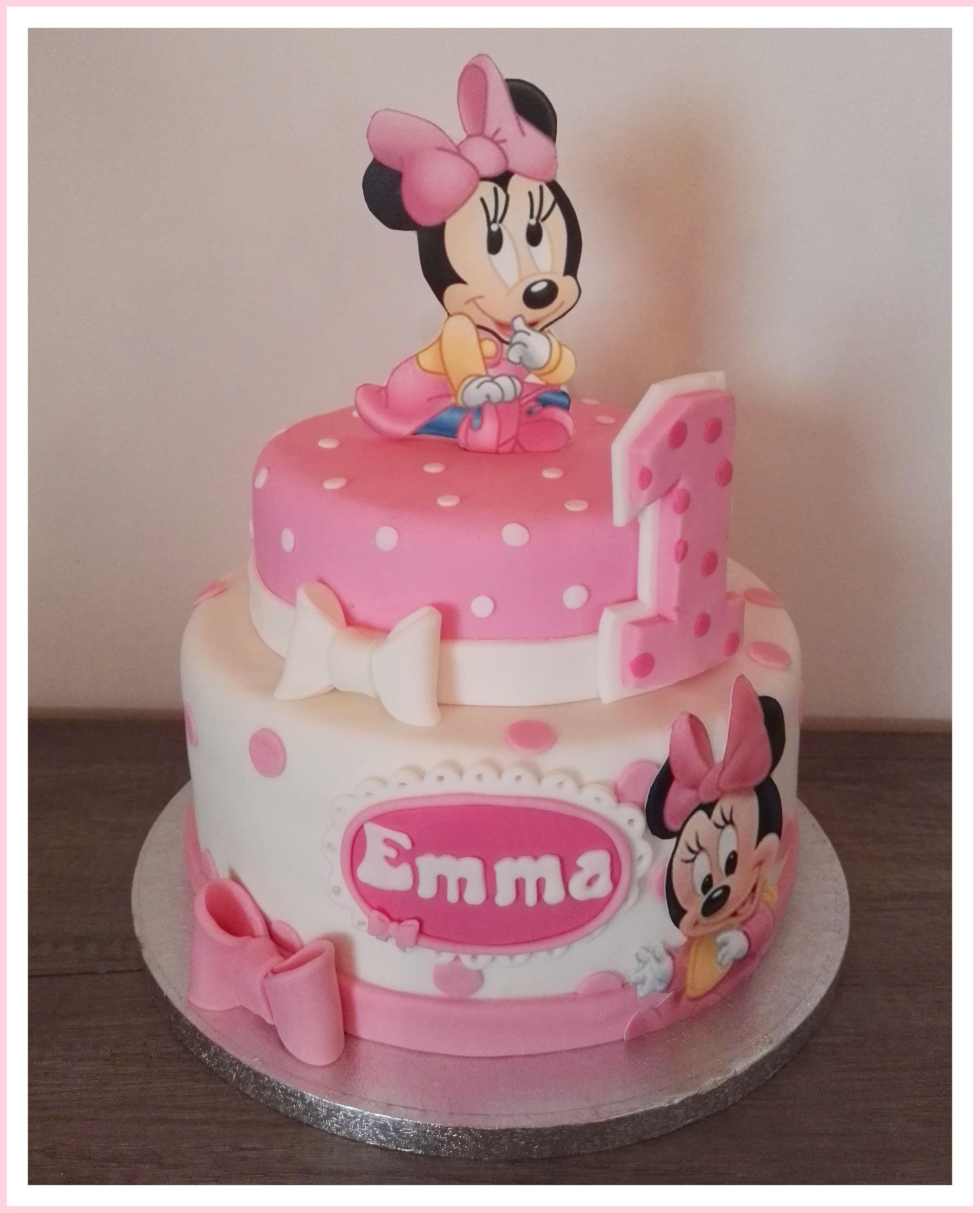 Wondrous Cake Minnie Mouse With Images Baby Minnie Mouse Cake Minnie Funny Birthday Cards Online Unhofree Goldxyz