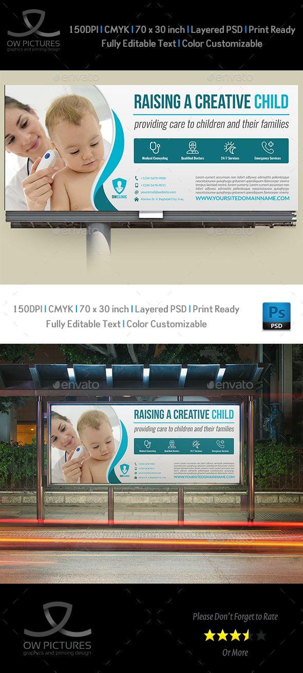 pediatrician billboard template psd download here https