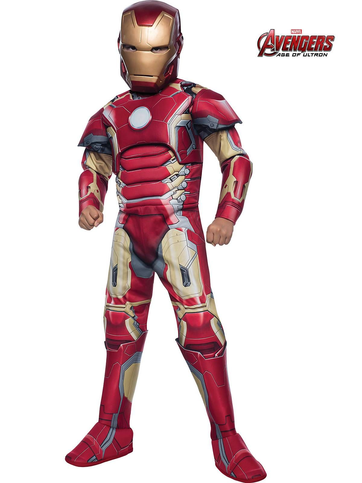 Boys Avengers 2 Deluxe Iron Man Mark 43 Costume | Avengers Costumes  sc 1 st  Pinterest : childrens superhero costumes  - Germanpascual.Com