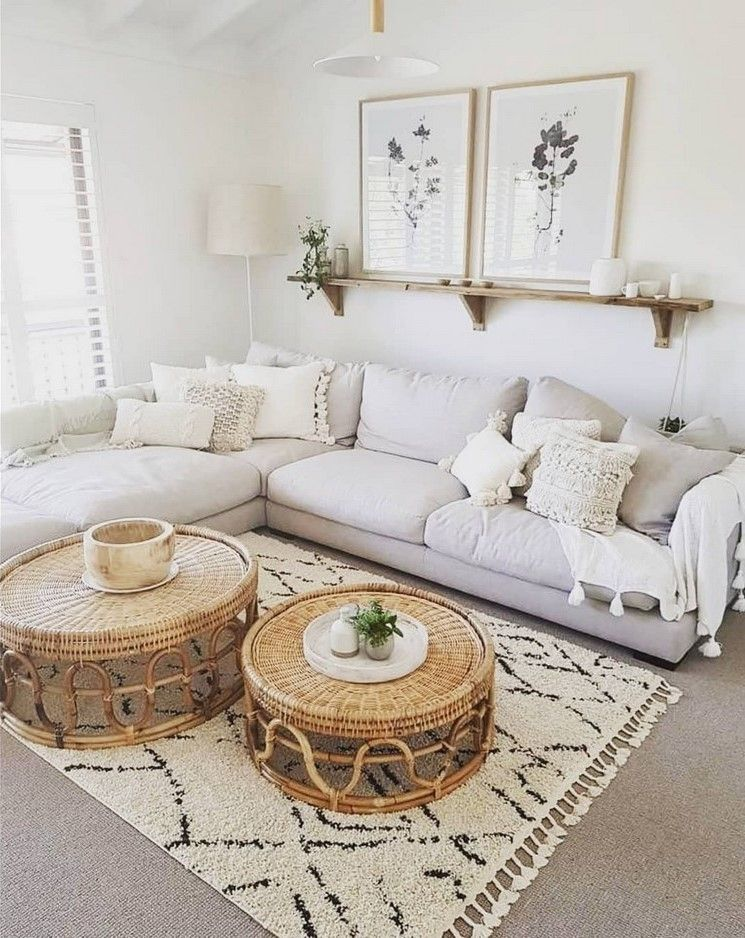 Boho Chic Home Decor Plans And Ideas Simple Living Room Designs Living Room Decor Apartment Small Apartment Living Room