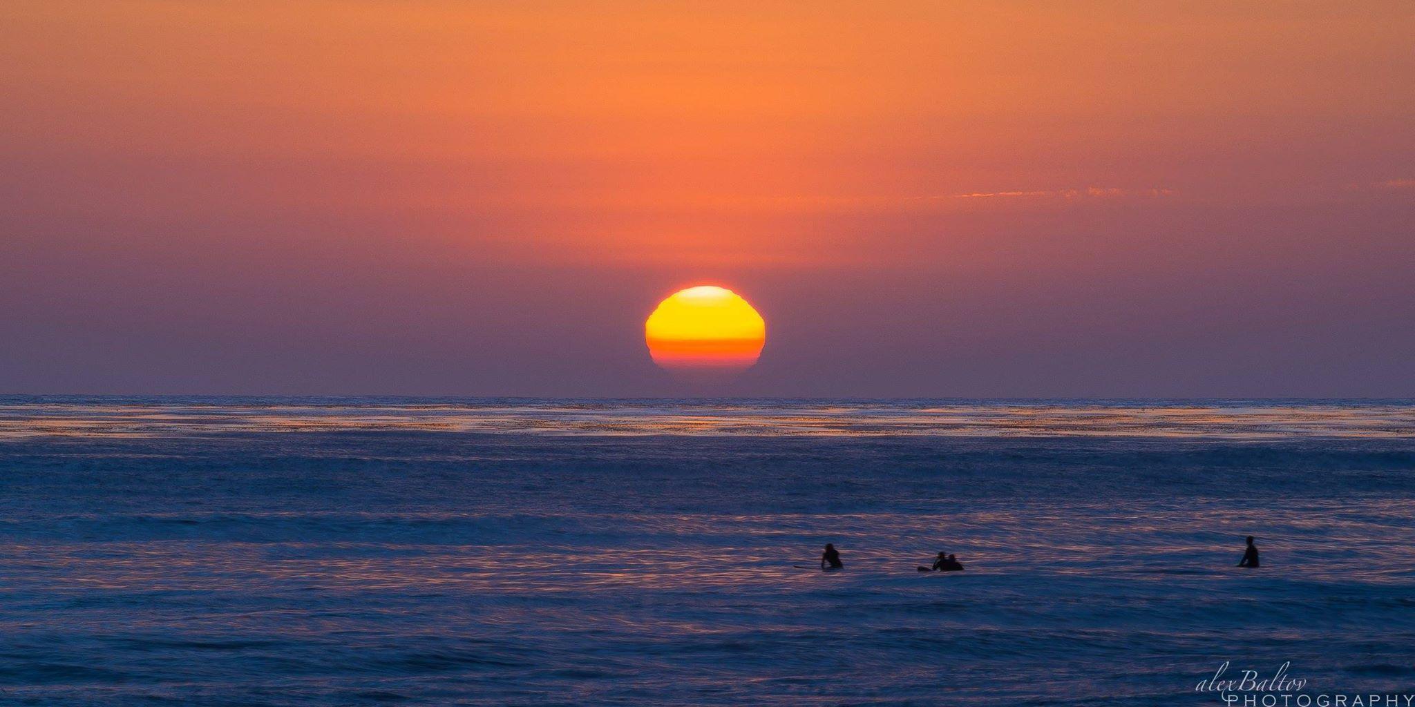 Alex Baltov Photography   -    Tonight's sunset at Windansea, La Jolla, CA ~   Summer has arrived!  6.22.15