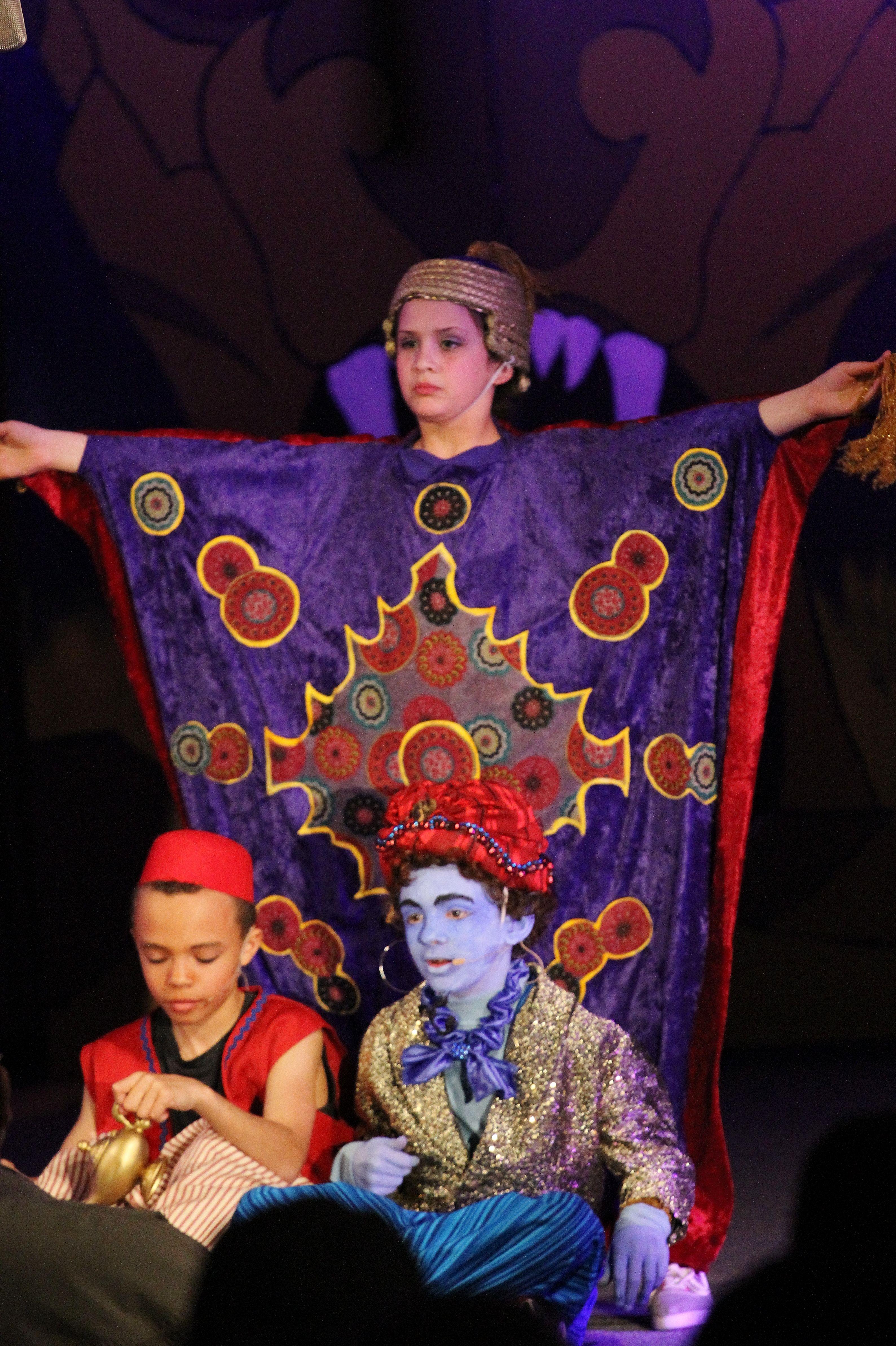 Aladdin Jr Magic Carpet Magic Carpet Kids Theater Disney Musical