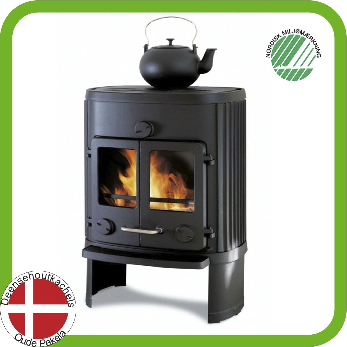 Classic cast-iron Morsø 1126 wood stove. | Morso wood stoves ...