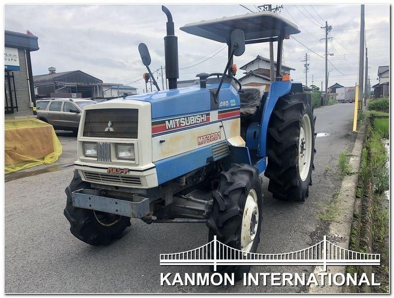 Usedjapanesetractors Jp Mitsubishi Mt3201 4wd Mitsubishi 4wd Tractors