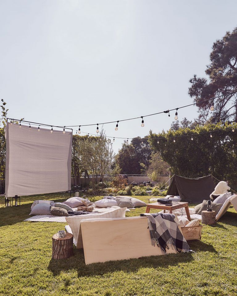 Photo of The Ultimate Outdoor Movie Night and Campout with Intel – Emily Henderson
