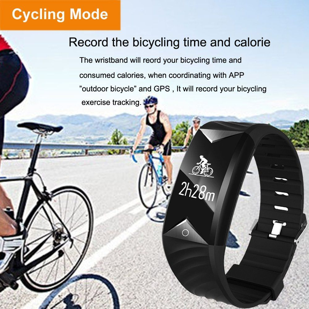 Best Partner For Cycling Iotton Colorful Display Fitnesstracker Cycling Bracelet Smartwatch Fitness Tracker Waterproof Fitness Tracker Activity Tracker