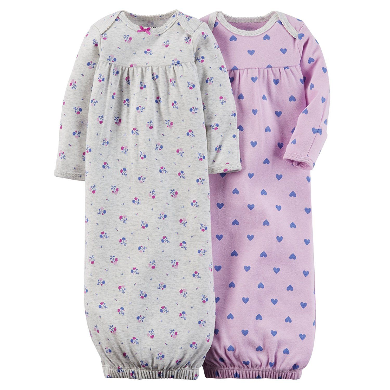 Carter\'s Baby Girl 2-pack Sleeper Gowns ** To view further, visit ...