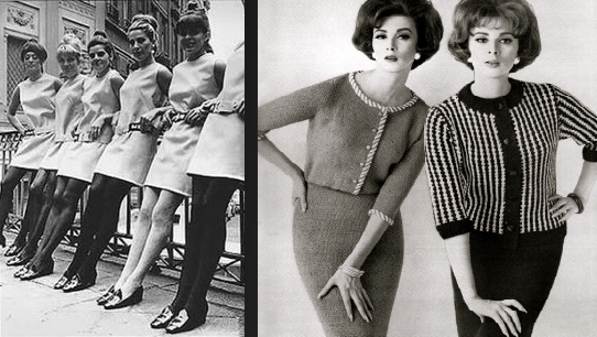 4a6d31452f8bd Görsel Sunum Teknikleri ve Moda: 1960 Kadın Modası | Kadın Dönem ...
