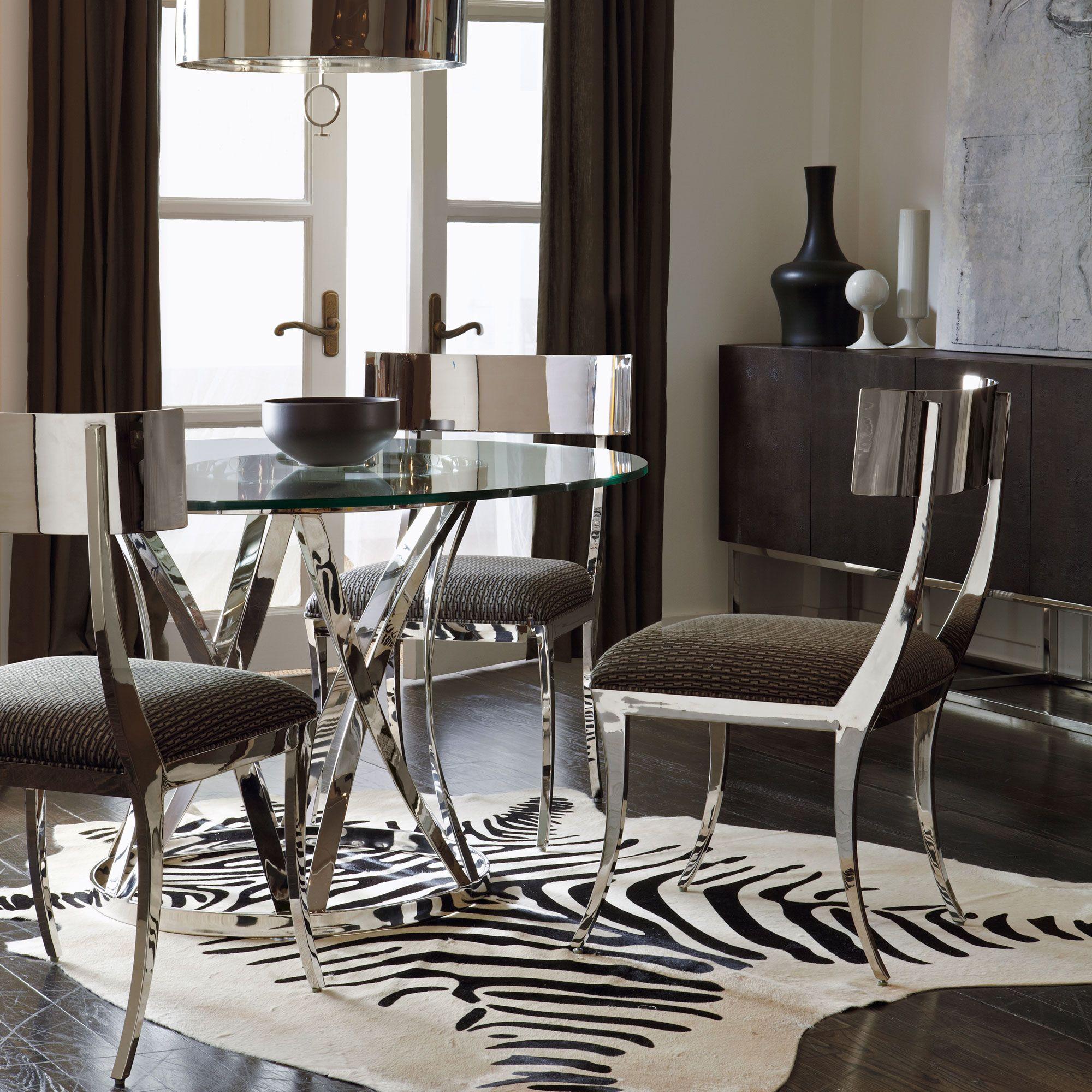 argent gustav zigrino dining room | bernhardt | hollywood glam, Esstisch ideennn