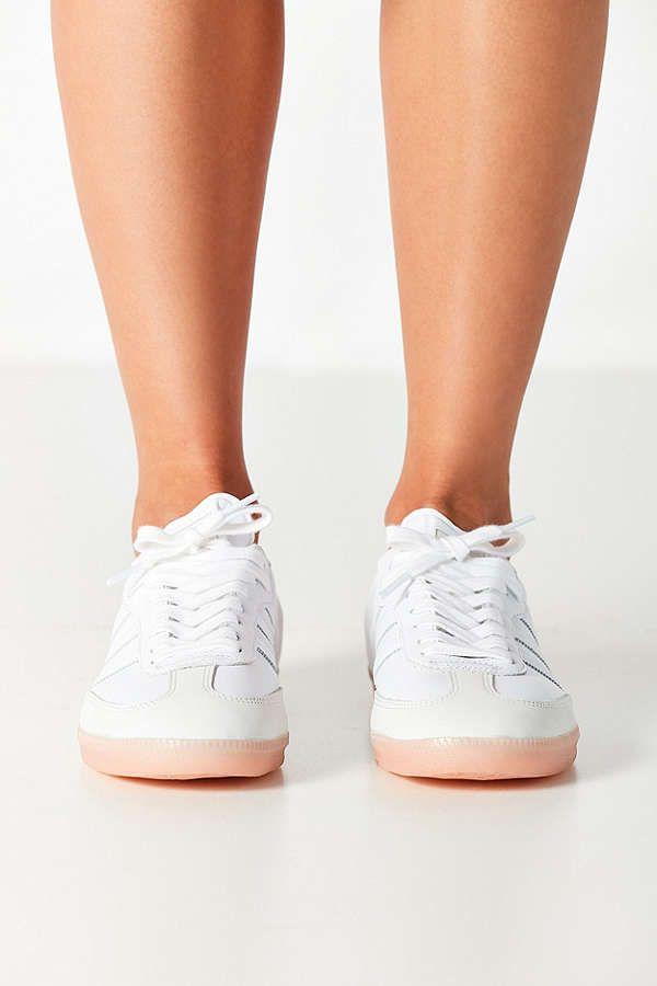 8411906c2dcc Slide View  3  adidas Originals Samba Pink Sole Sneaker
